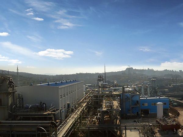 Coke oven gas liquefied natural gas project